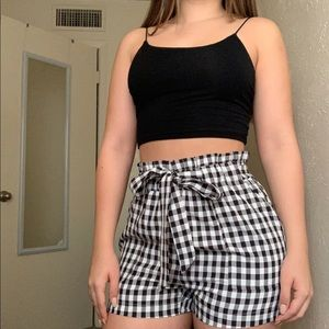 Fashion Nova Hight Waist Gingham Short